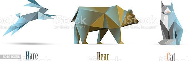 Vector polygonal illustration of animals cat bear hare modern low vector id601940056?b=1&k=6&m=601940056&s=612x612&h=nx7hr07f9vwj fgkqpjgcqnreugnhjupkpjk zotjm8=