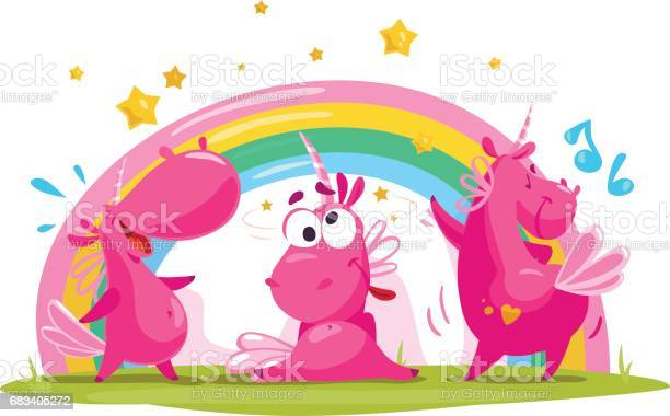 Vector portrait of three flat funny unicorn character vector id683405272?b=1&k=6&m=683405272&s=612x612&h=qrlyloscobyei1i2unibosopw7sjpn1 aiq7ys fmj4=