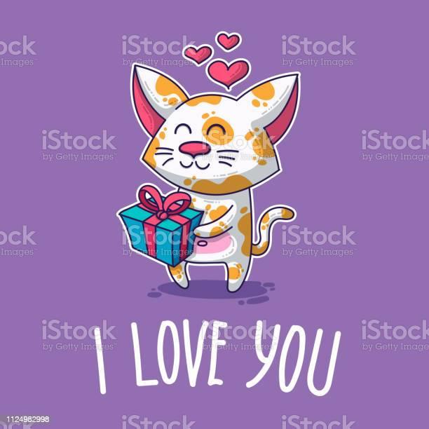 Vector postcard about cat in love vector id1124982998?b=1&k=6&m=1124982998&s=612x612&h=ld8xg7exscst4livh75mz75sbzprogxir9inrg4s8vu=