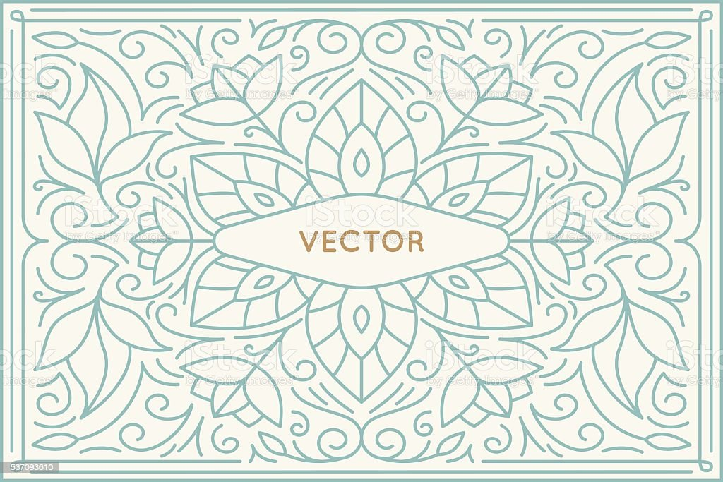 Vecteur Modèle de conception de l'affiche et carte de vœux avec espace pour copie - Illustration vectorielle