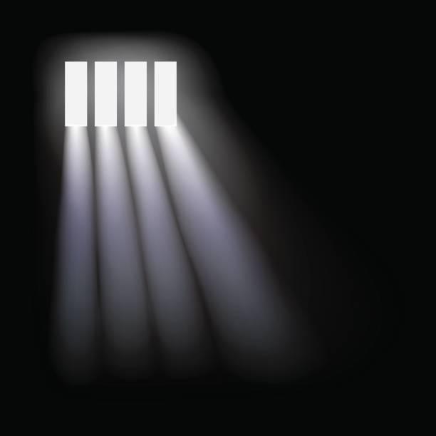 illustrations, cliparts, dessins animés et icônes de arrière-plan de fenêtre de la prison de vecteur. - prison