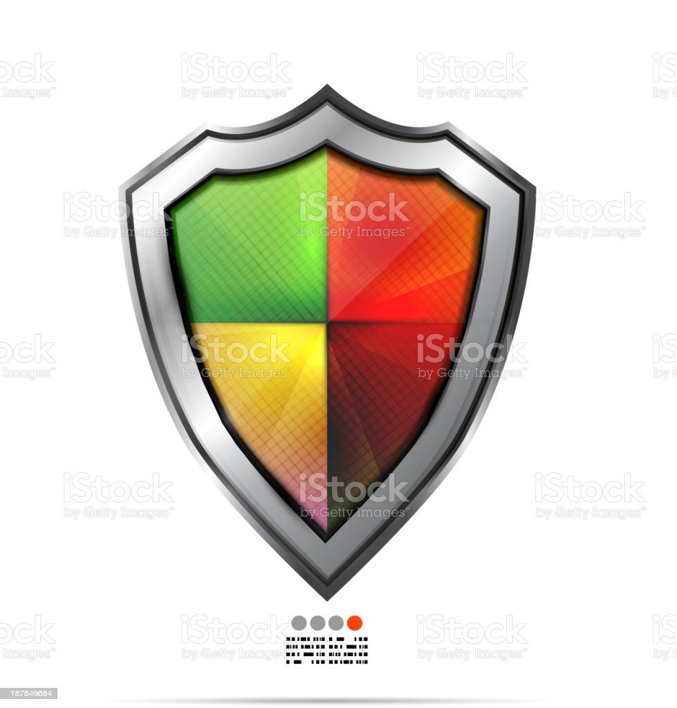 Vector protection shield royalty-free vector protection shield stock vector art & more images of badge
