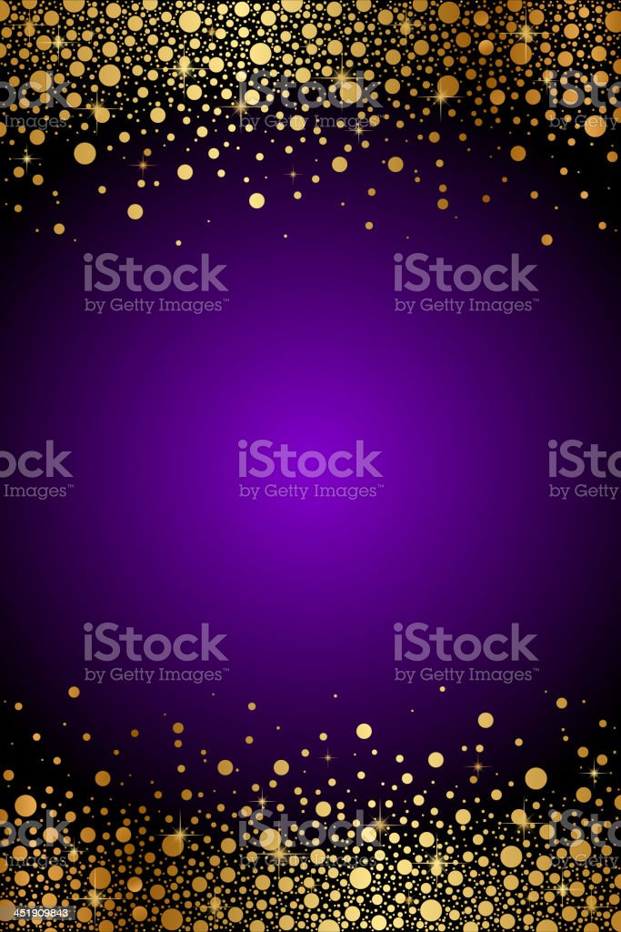 Vector Purple And Gold Luxury Background Stock Vector Art ...