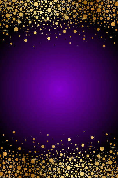 Top 60 Purple And Gold Backgrounds Clip Art, Vector ...
