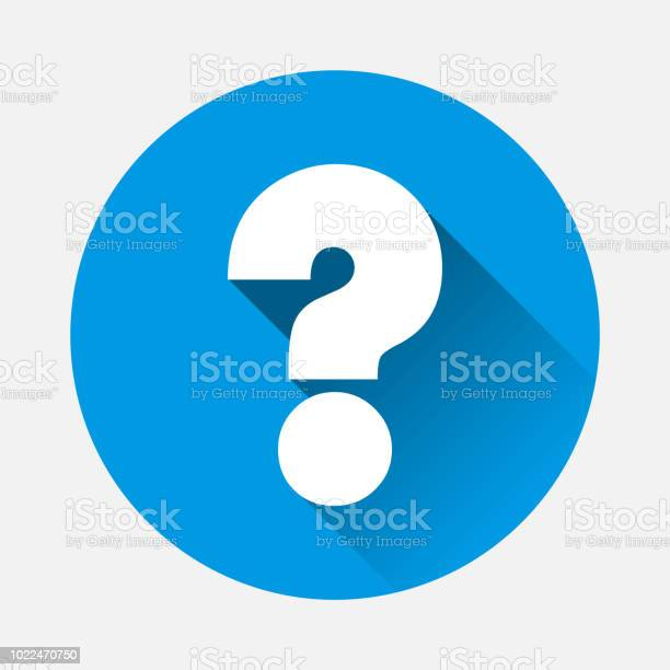 Vector question icon on blue background flat image question with long vector id1022470750?b=1&k=6&m=1022470750&s=612x612&h=7ls qbghco3pbf575asx v yjgpo 8alrx szrw1dwq=