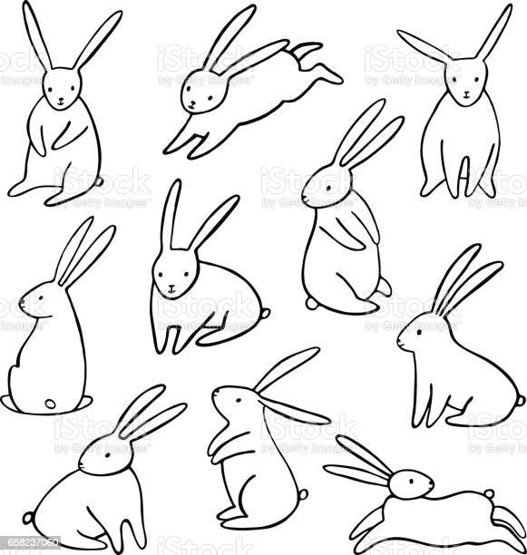 Vector rabbit icons set simple cartoon bunny isolated vector id658237060?b=1&k=6&m=658237060&s=612x612&h=u8eialr3eqvizpb omeicobdulgapax4unaz0kdappo=