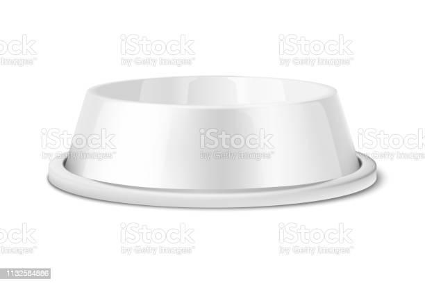 Vector realistic 3d glossy white blank plastic or metal pet bowl icon vector id1132584886?b=1&k=6&m=1132584886&s=612x612&h=da9gtpcbzqe0xditjmzmwdnxdwkcusxopbrrrcssr m=