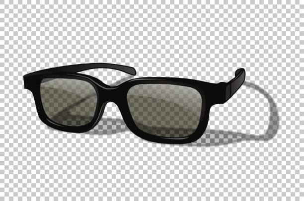 vector realistic 3d or sunglasses isolated on transparent background. - sunglasses stock illustrations, clip art, cartoons, & icons