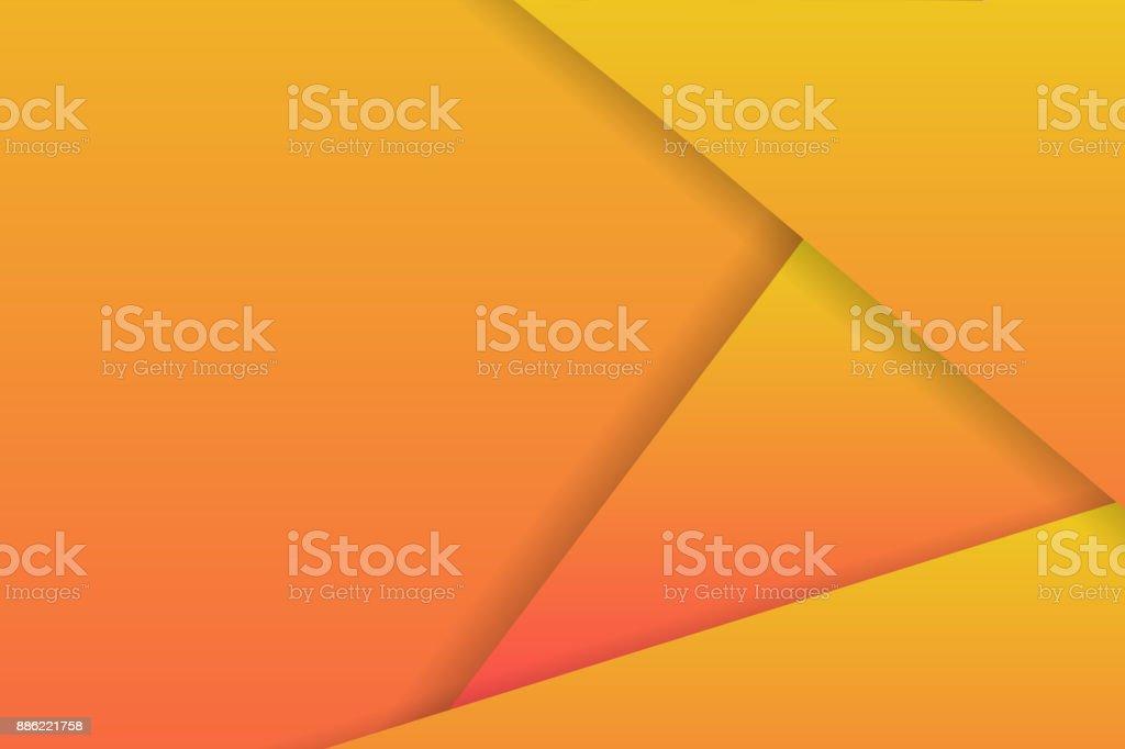 Fond Realiste De Vecteur Avec Papier Calques Origami Style Decoration Modele Design Moderne