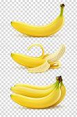 istock Vector realistic bananas 1315483281