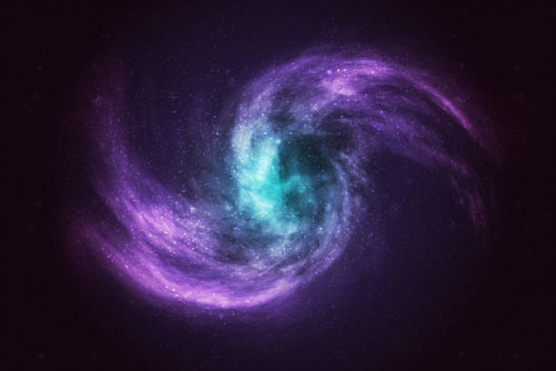 Vector realistic cosmic galaxy background. Concept of space, nebula and cosmos. Vector realistic cosmic galaxy background. Concept of space, nebula and cosmos. nebula stock illustrations