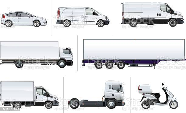 Vector realistic delivery transport mockup vector id826771876?b=1&k=6&m=826771876&s=612x612&h=ylfkxyco8ma32l7ol487lbkgsnf49r5v3ftsb0hufy4=