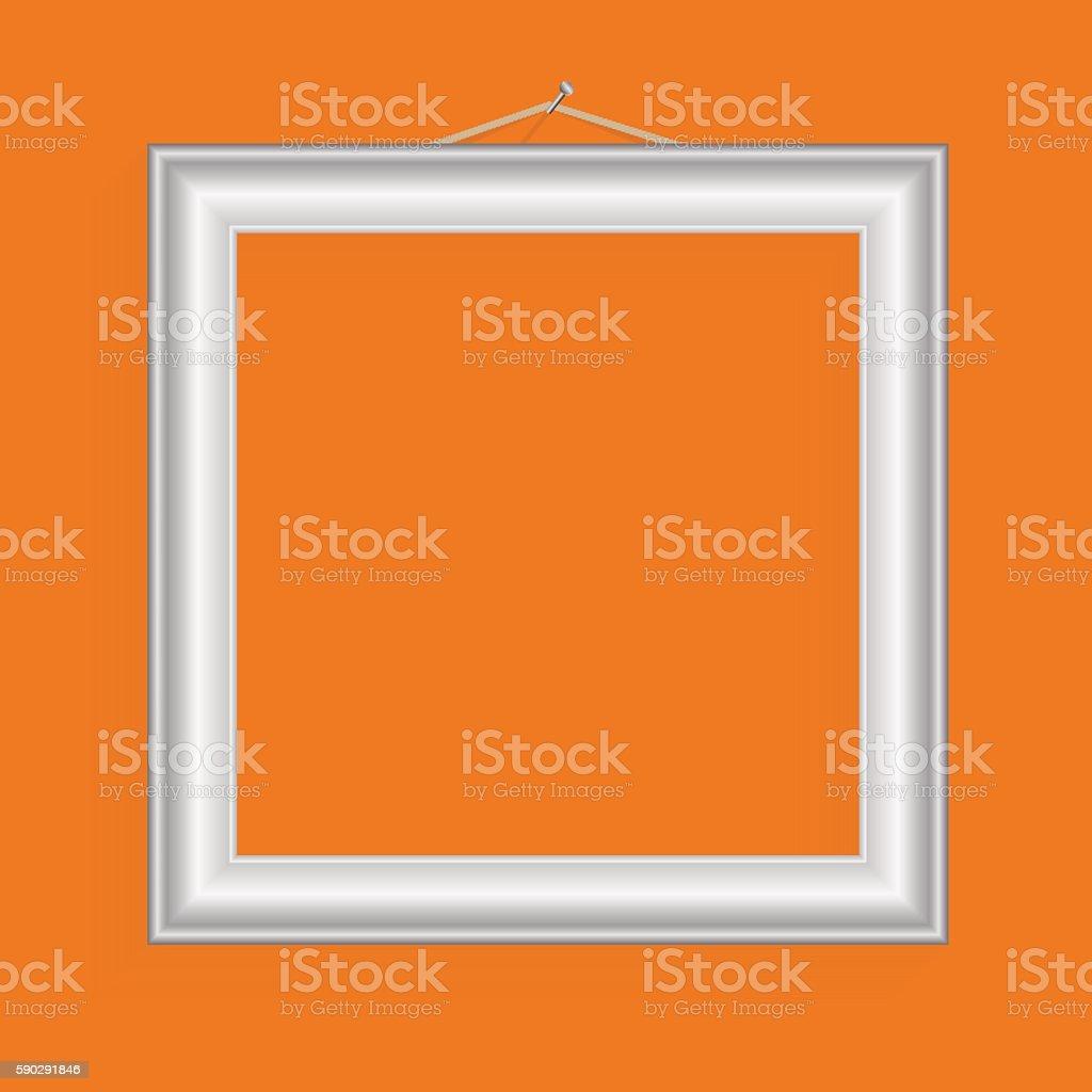 Vector realistic frame for your artwork or photos. vector realistic frame for your artwork or photos — стоковая векторная графика и другие изображения на тему Абстрактный Стоковая фотография