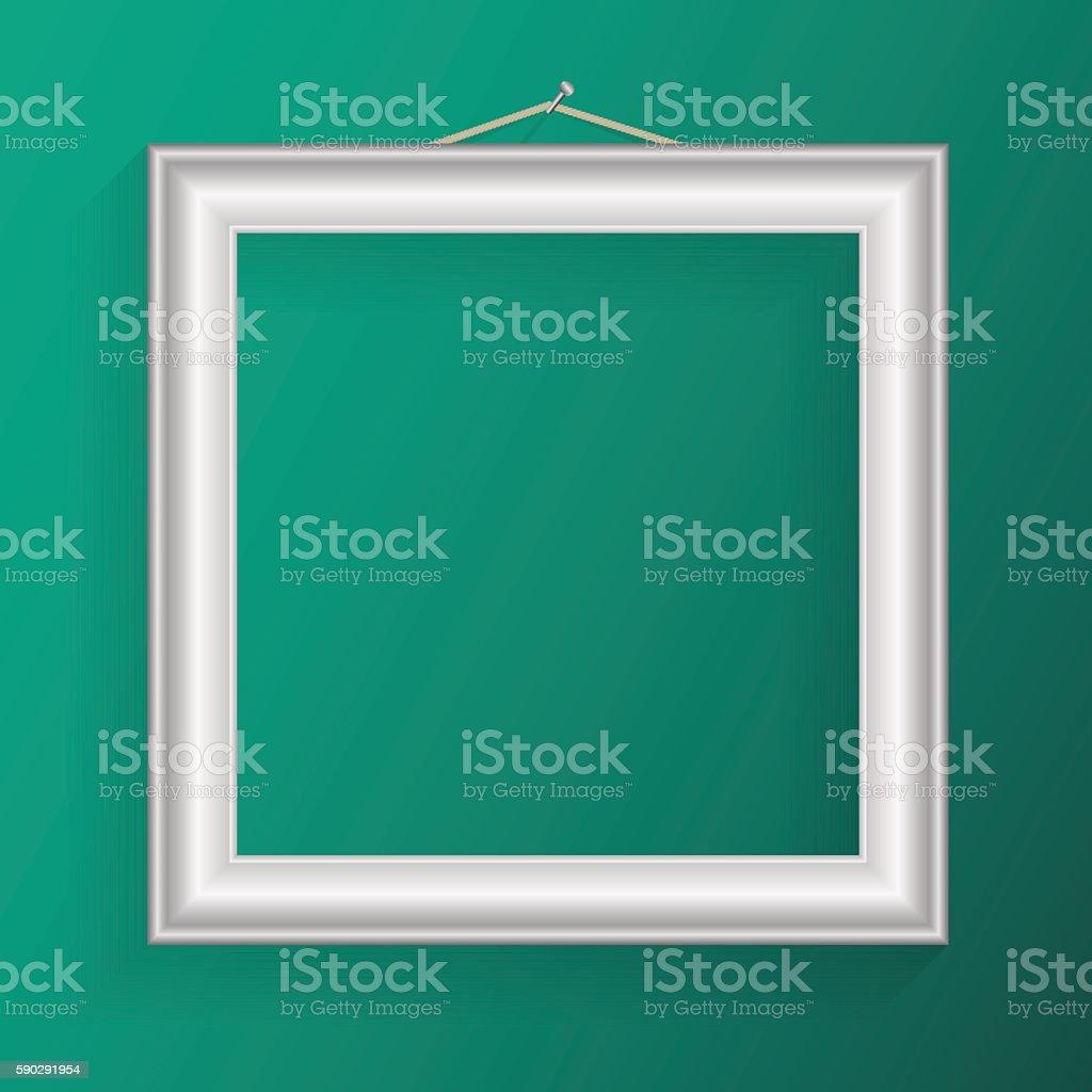 Vector realistic frame for your artwork or photos. royaltyfri vector realistic frame for your artwork or photos-vektorgrafik och fler bilder på abstrakt