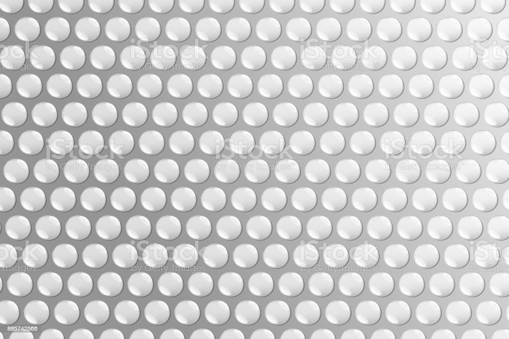 Vector realistic isolated bubble wrap background for decoration and covering. vector art illustration