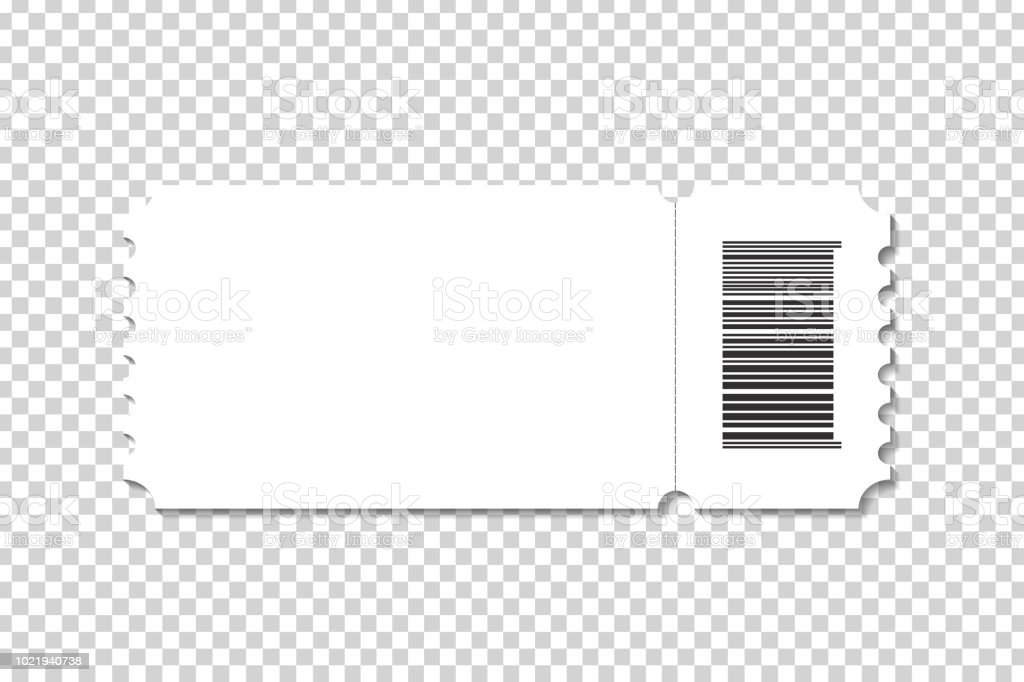 vector realistic isolated cinema ticket template for decoration and