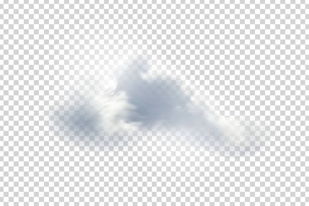 Vector realistic isolated cloud for template decoration and mockup covering on the transparent background. Concept of storm and sky. Vector realistic isolated cloud for template decoration and mockup covering on the transparent background. Concept of storm and sky. altocumulus stock illustrations