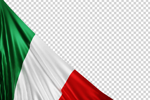 Vector realistic isolated Mexican Flag for 16th September, Indepencence Day in Mexico for template decoration and invitation covering on the transparent background.