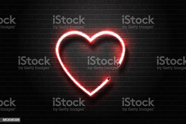 Vector realistic isolated neon sign of heart for decoration and on vector id880698398?b=1&k=6&m=880698398&s=612x612&h= hgy3wlz6nla7ixx2nc9hgtnqqfev dysl2kprrzsok=