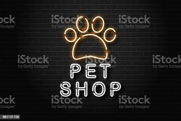 Vector realistic isolated neon sign of pet shop logo for decoration vector id984131108?b=1&k=6&m=984131108&s=612x612&h=3kjtwosngr36r9a40qseyqp   zskwsxdks6rwglg1i=
