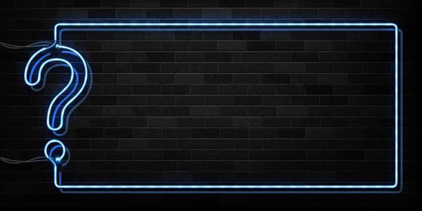 neon tabela dekorasyon ve kaplama duvar arka plan üzerinde test çerçeve logosunun izole vektör gerçekçi. - experience stock illustrations