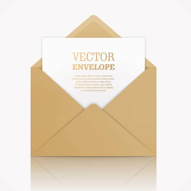Vektor realistische Nachbildung des Umschlags. – Vektorgrafik