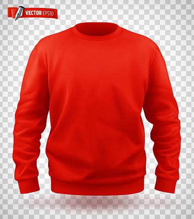 Vector realistic sweat-shirt