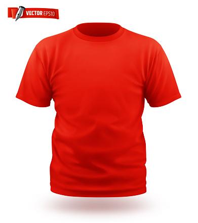 Vector realistic T-shirt