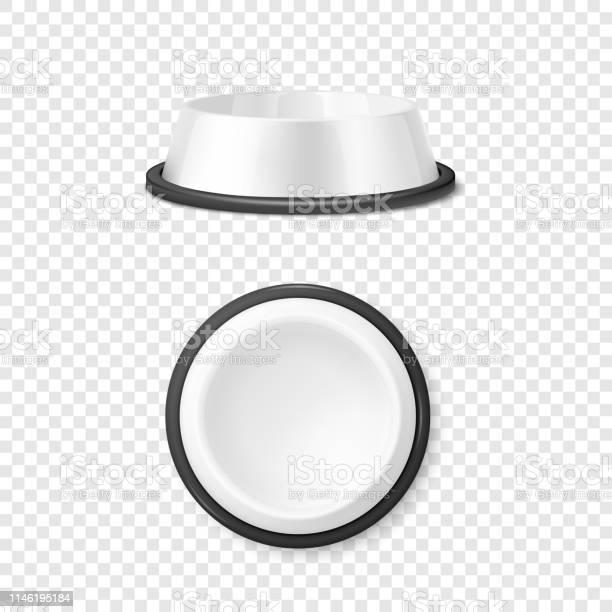 Vector realistic white blank plastic or metal pet bowl icon set on vector id1146195184?b=1&k=6&m=1146195184&s=612x612&h=iksyfeeieycjemho06ebn76hthhbk1 k17w0mdcpae4=