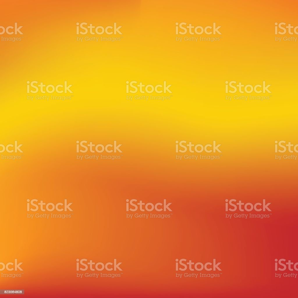 Vector red and orange blurred gradient style background. Abstract smooth colorful illustration, social media wallpaper. vector art illustration