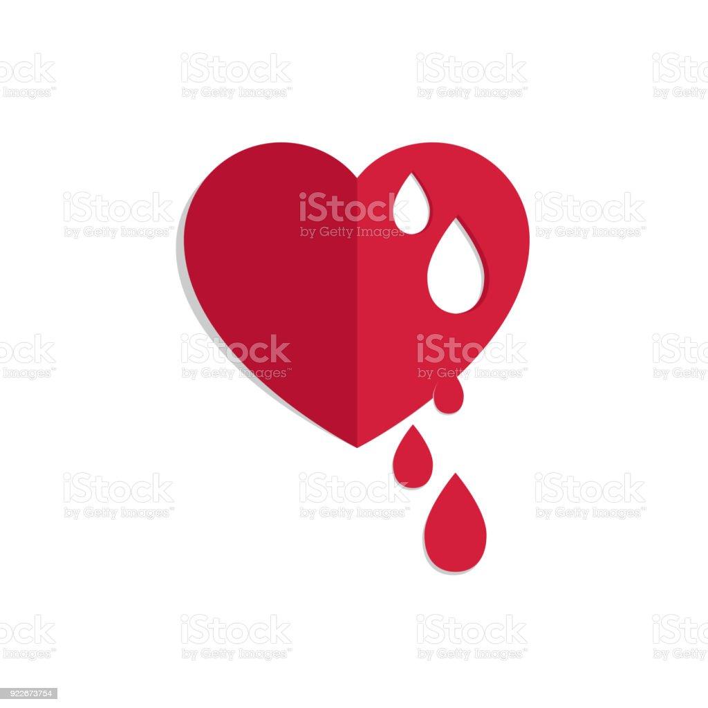 Royalty Free Bleeding Heart Clip Art Vector Images Illustrations