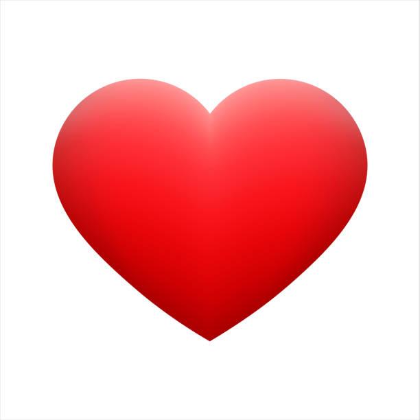 vektor rote herzform emoticon auf hintergrund. - heart stock-grafiken, -clipart, -cartoons und -symbole