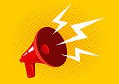 istock Vector red megaphone 996179604