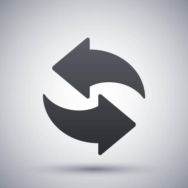 Vektor erfrischen-Symbol – Vektorgrafik
