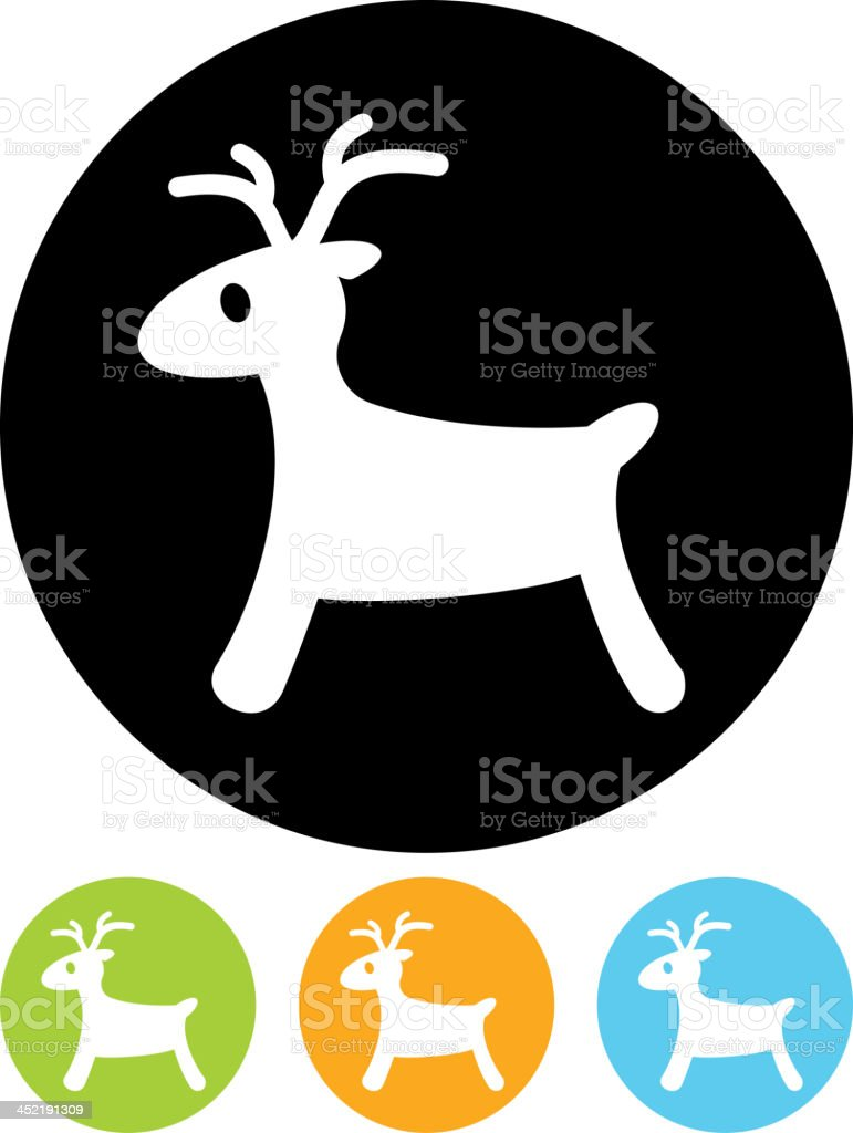 Vector Rudolph reindeer royalty-free vector rudolph reindeer stock vector art & more images of animal