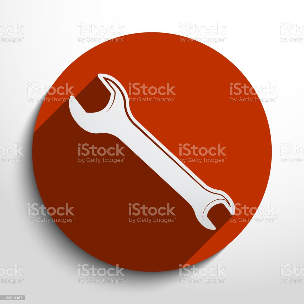 Vector repair web icon royalty-free stock vector art