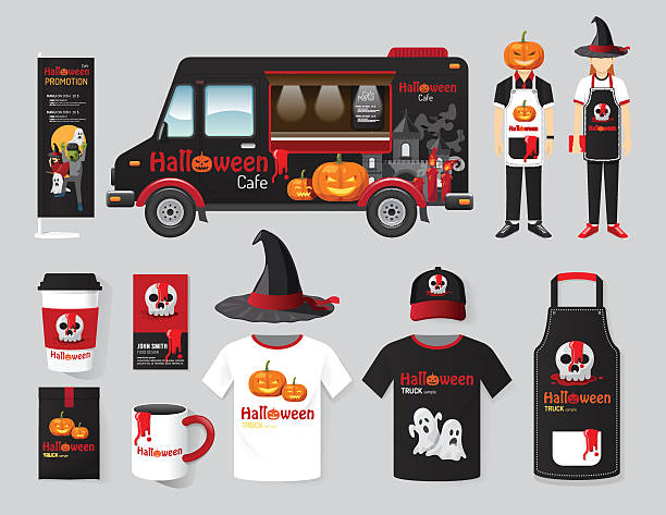 Best Halloween Coffee Illustrations, Royalty-Free Vector ...