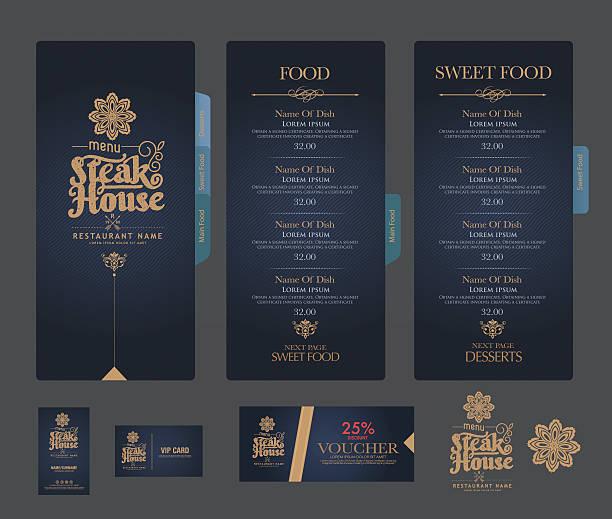 Speisekarte Vektorgrafiken und Illustrationen - iStock