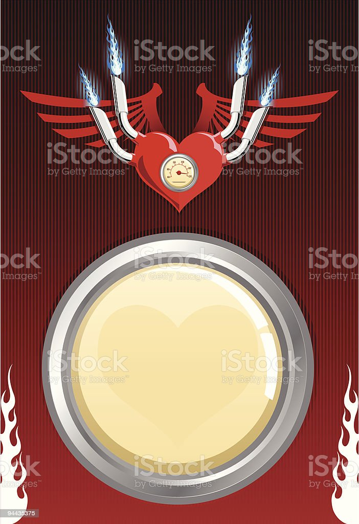 Vector retro motor heart royalty-free vector retro motor heart stock vector art & more images of abstract