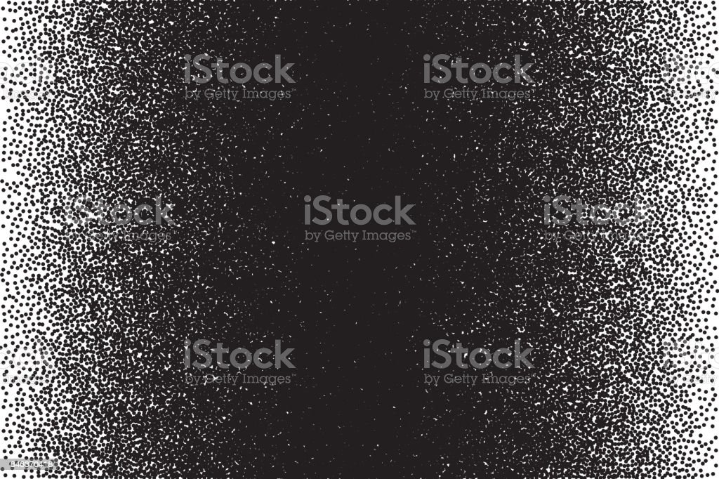 Vector Retro Style Dotwork Background vector art illustration