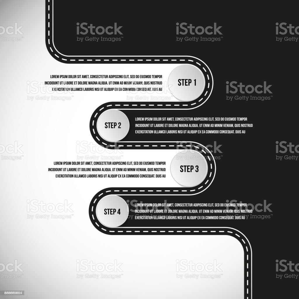 Vector Road Graph Templates Stock Vector Art & More Images of ...