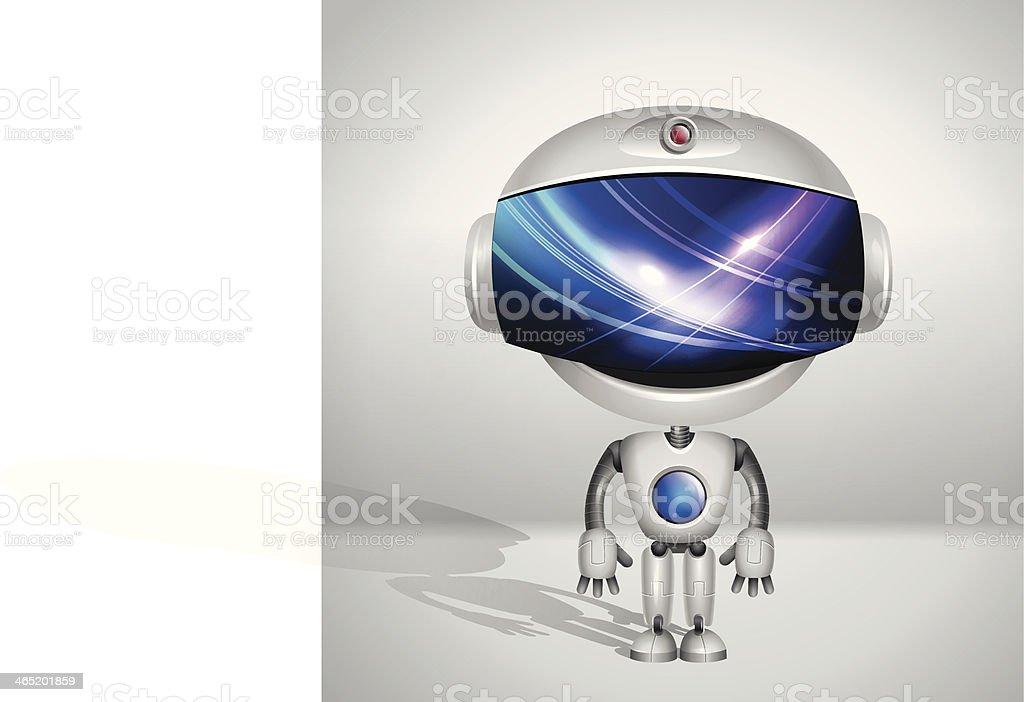 Vector Robot Screen Indicator Stock Vector Art & More Images