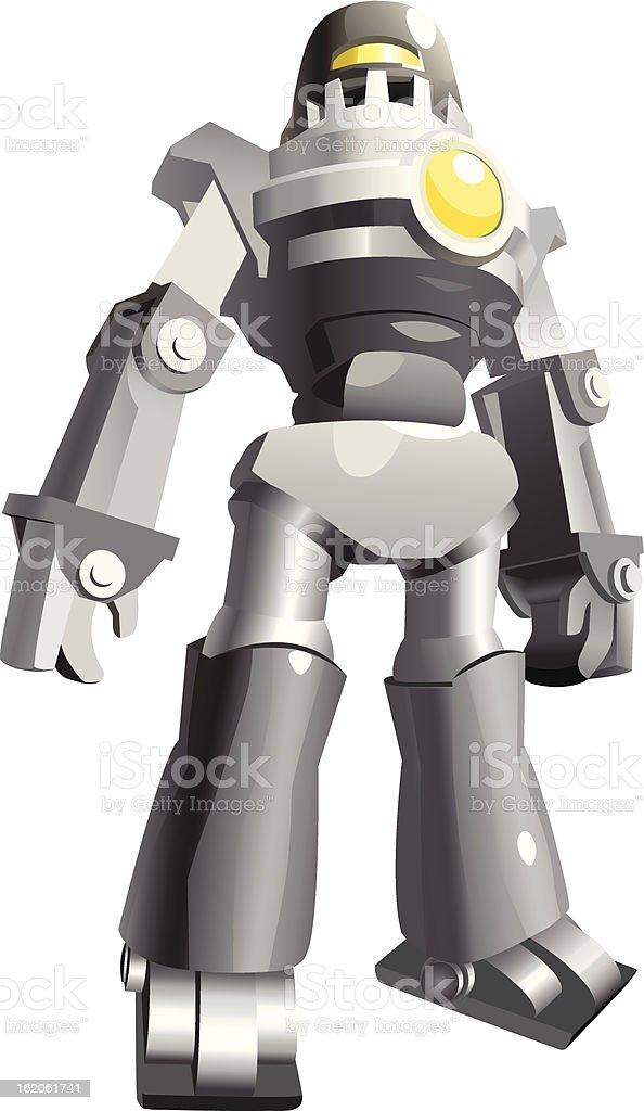 Vector Robot vector art illustration