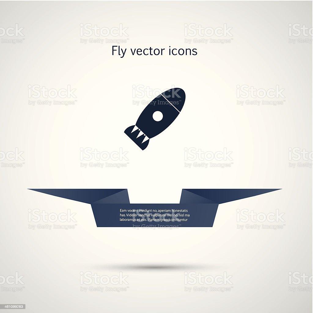 vector rocket royalty-free stock vector art