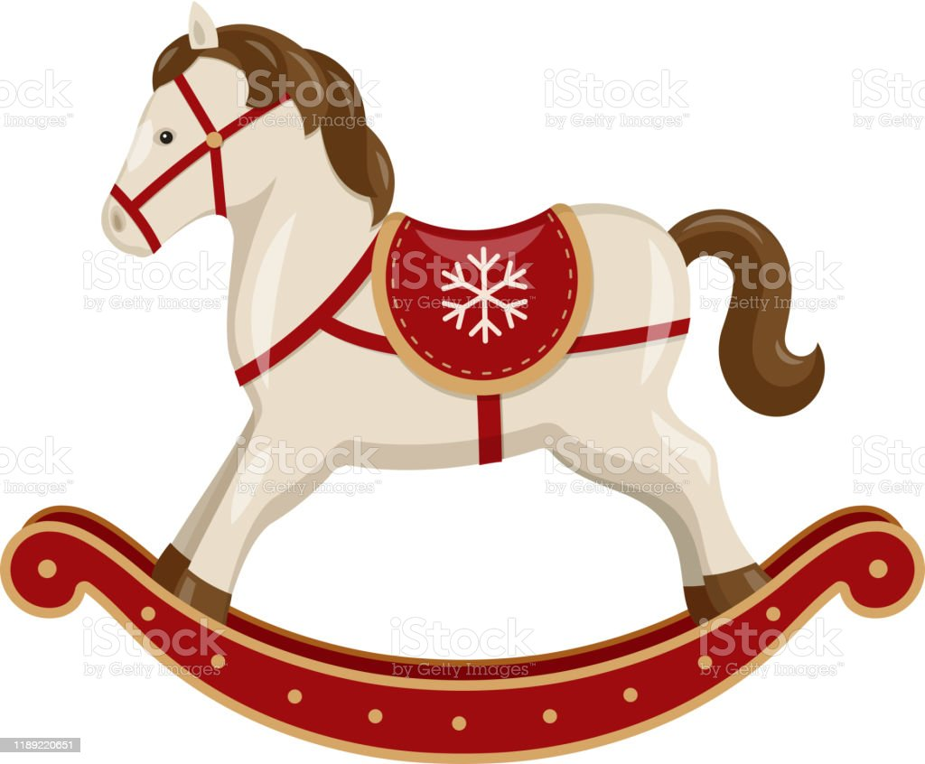 Vector Rocking Horse Stock Illustration Download Image Now Istock