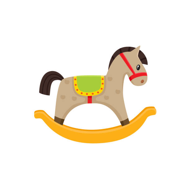 Best Rocking Horse Illustrations Royalty Free Vector