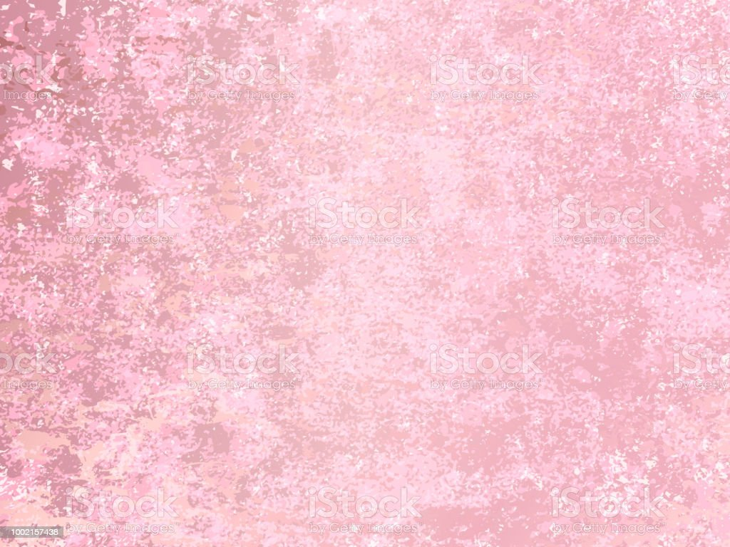 Vector rose gold marble background. Rose Gold metallic texture....