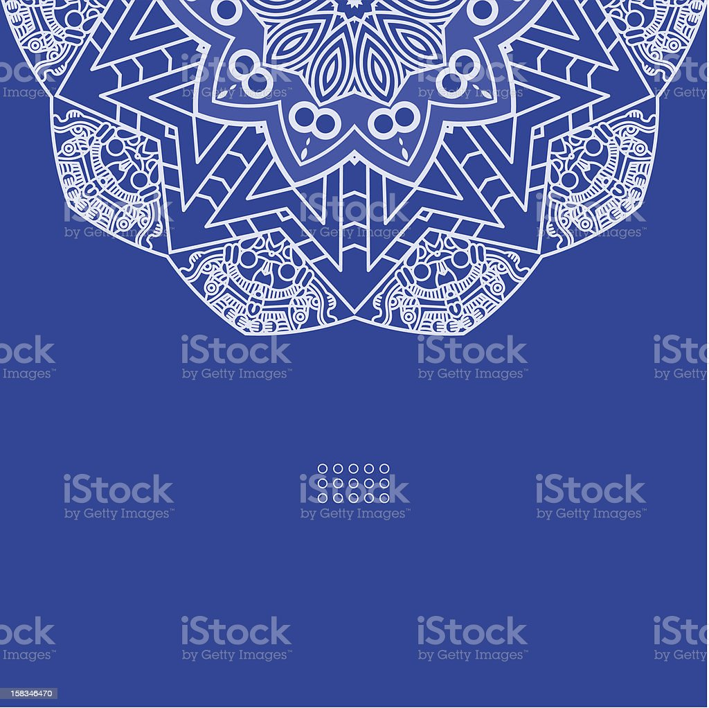 Vector round decorative design element royalty-free vector round decorative design element stock vector art & more images of backgrounds