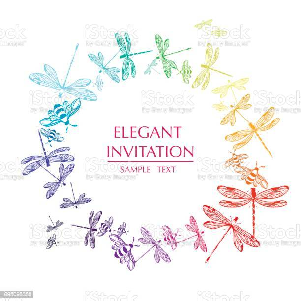 Vector round frame with dragonflies decorative circle with and text vector id695098388?b=1&k=6&m=695098388&s=612x612&h= otkkqtz3upiewffj4 15mlggotfvgte24n68xirkg4=