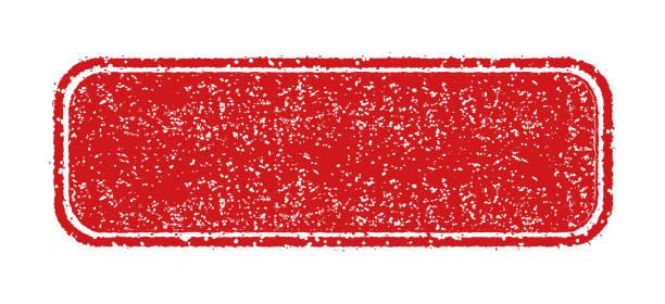 vector rubber stamp template illustration (no text/ text space) - pieczęć znaczek stock illustrations